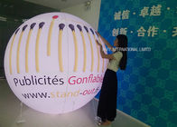 Glow / Flash Flying Helium Balloon Lights PVC Logo Outside Spheres Advertising Inflatable