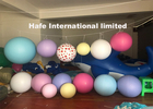 30cm - 5m Inflatable Advertising Balloons Pink Red Blue Yellow With Customize Color
