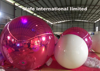 Large Reflective Advertising Inflatable Mirror Balloon For Indoor Christmas Decoration