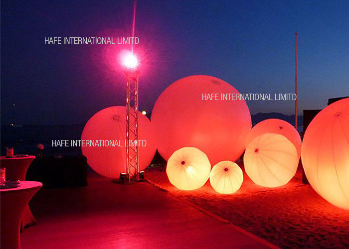 Led Balloon Decoration Water Floating Light 240W Night Events Lighting Hanging Suspension