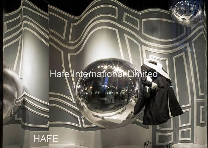 Custom 2m Laser Dazzle Inflatable Mirror Ball For Marketing Or Event Decoration Balloon
