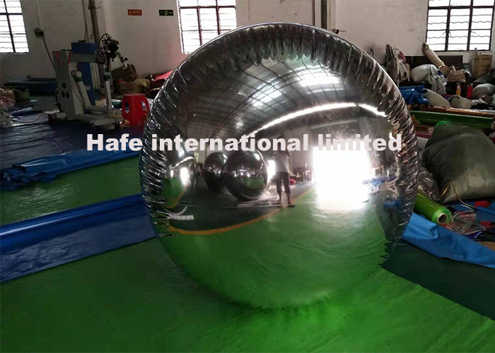 Decoration 8 Foot Luxury Hanging Mirrored Balloon Lights For LV  Fashion Show
